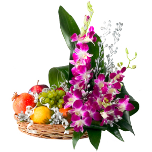 Orchids with 2 kg fruits