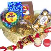16 pcs ferrero chocolates, celebration, coin chocolates, heart chocolates, rakhi